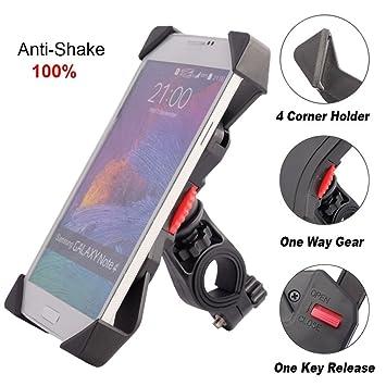 ivoler Anti de Shake Soporte de Teléfono para Bicicleta ...