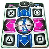 Generic Non-Slip Dance Revolution Dancing Pad Mat Compatible for Sony PS1 / PS2 Console Video Game