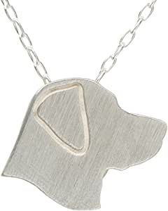 SilhouPETte Labrador Jewelry, Necklace with Pendant