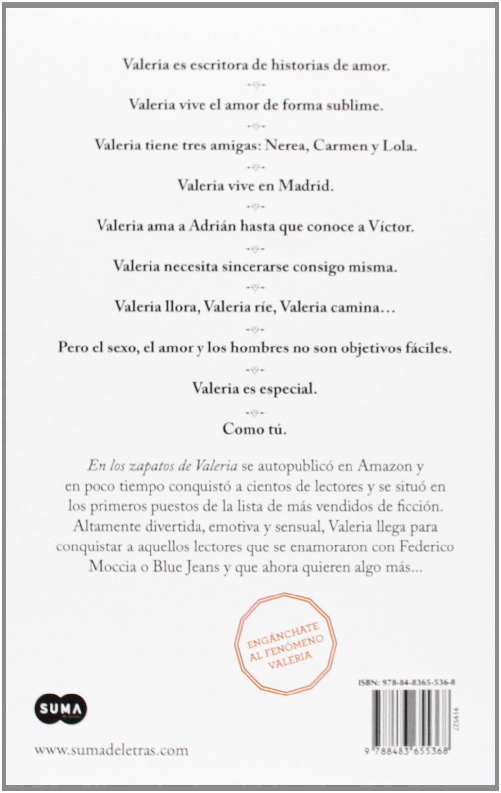 En los zapatos de Valeria: Elísabet Benavent: 9788483655368: Amazon.com: Books