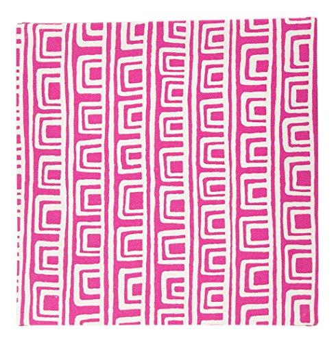 Wall Glenna Jean Baby Hanging - Glenna Jean Millie Geometric Wall Art, Pink