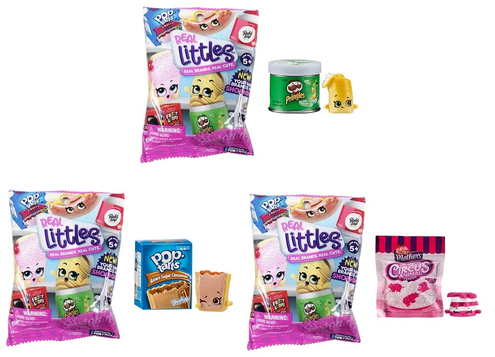 U.C.C. Distributing Exclusive Real Littles Mystery Surprise Pack Lot of 3 Random Packages
