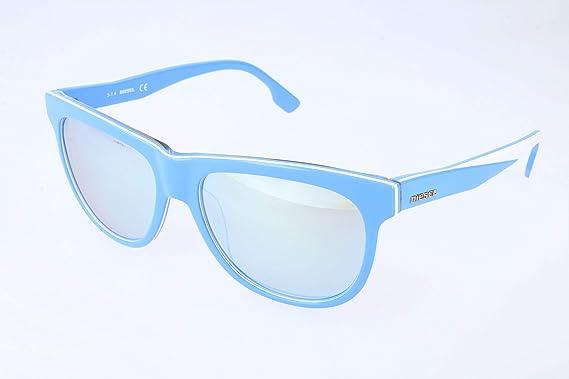 Diesel Gafas de sol, Azul (Blue), 56.0 Unisex Adulto: Amazon ...