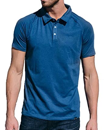 Barbell apparel men s havoc havok polo short sleeve shirt at