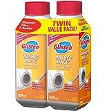 Glisten Washer Magic Washing Machine Cleaner & Deodorizer, 12 Fl. Oz. Bottle, 2 Pack