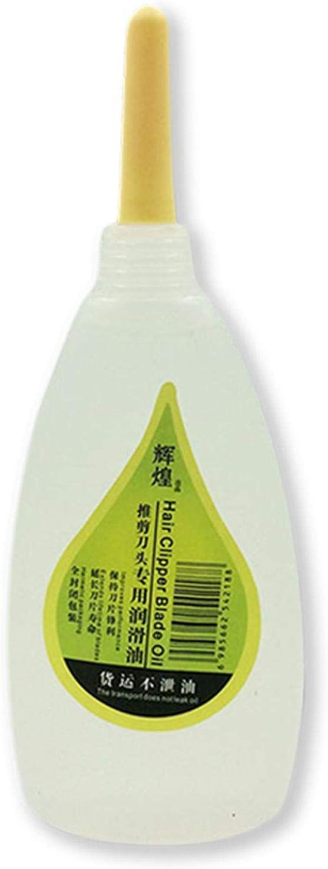 gilivableskr Aceite lubricante de Mantenimiento 50ML para cortapelos, máquinas de Afeitar eléctricas, Tijeras de Corte de Cabello, lubricante para máquinas de Coser consistent Classical