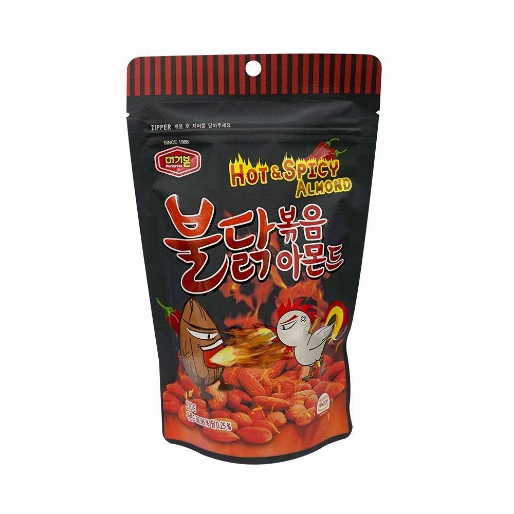 [Murgerbon] Bulldark Spicy Chicken Roasted Almond 210g (7.4oz) (overseas direct shipment)