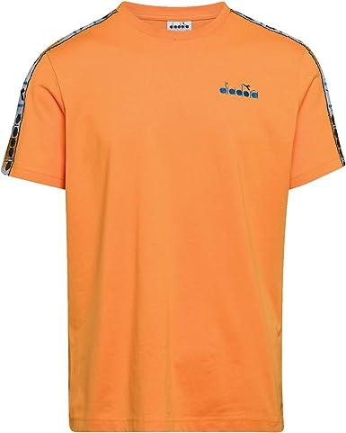 Diadora SS 5Palle Offside - Camiseta naranja para hombre ...