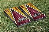 Cleveland Cavaliers NBA Basketball Regulation Cornhole Game Set Triangle Weathered Version