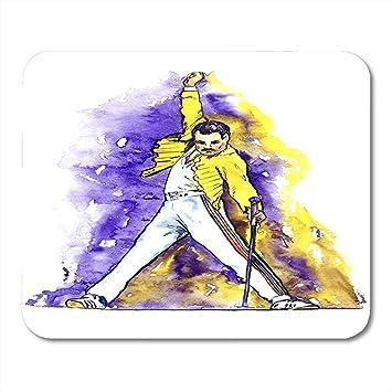 Alfombrilla de ratón Freddie Mercury Micrófono de Baile en el ...