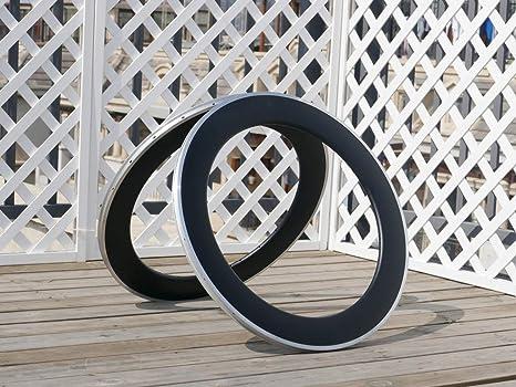 Flyxii - Llantas de Bicicleta (21 mm de Ancho, 80 mm de Grosor, 80 ...
