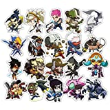 Overwatch Car Stickers [48 Pieces],Savorware 48Pieces Overwatch Custom Print Die Cut Bumper Vinyl Stickers For Car Laptop Motorcycle Bicycle Luggage Decal Graffiti Patches Skateboard