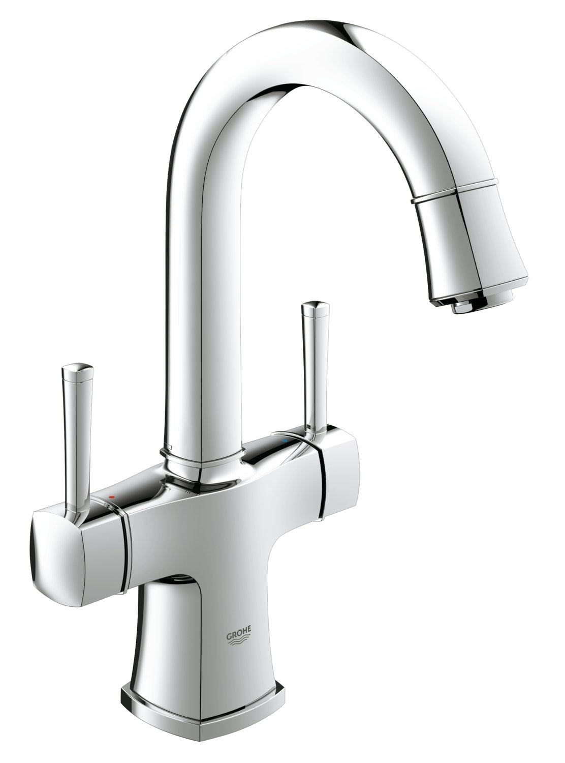 grohe bath mixer taps mobroi com grohe 21107000 grandera 2hdl basin swivel spout amazon