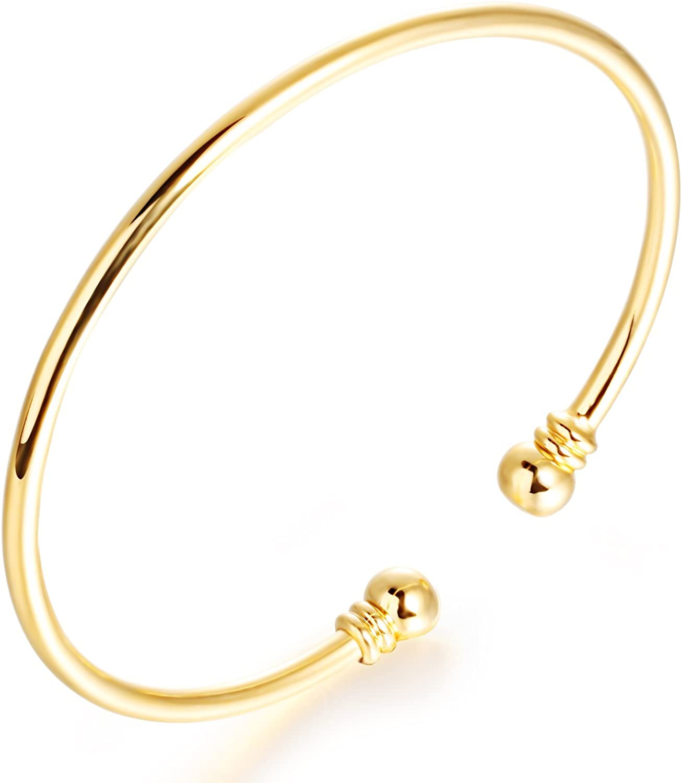 Achetez bracelet jonc or 18k neuf revente cadeau, annonce