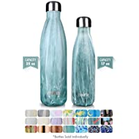 MIRA Vacuum Insulated Travel Water Bottle | Leak-proof Double Walled Stainless Steel Cola Shape Sports Water Bottle | No Sweating, Keeps Your Drink Hot & Cold