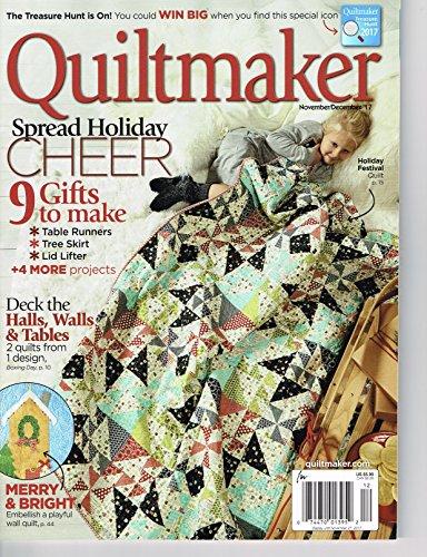 Quiltmaker Magazine November 2017 Cheers Magazine