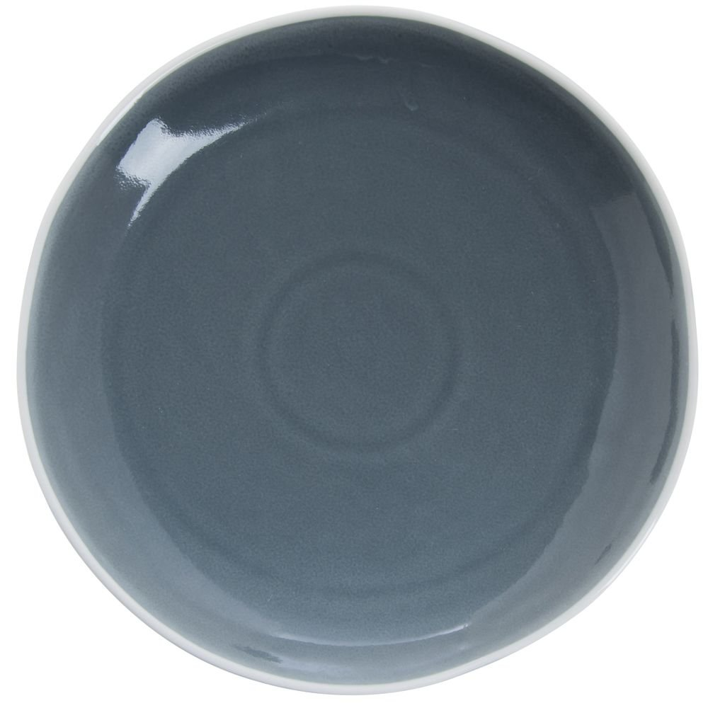 Cardinal Canyon Ridge Blue Porcelain Luncheon Plate - 8''Dia 36 Per Case