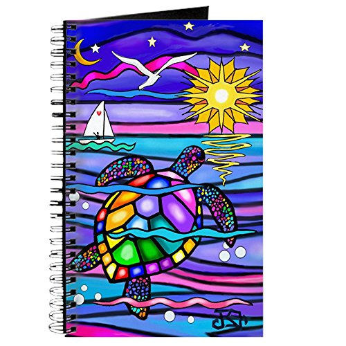 CafePress - Sea Turtle #4 - Spiral Bound Journal Notebook, Personal Diary, Blank