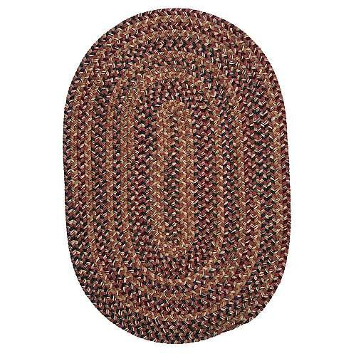 Colonial Mills Twilight Red 2' x 4' Oval Area Rugs - TL70R024X048
