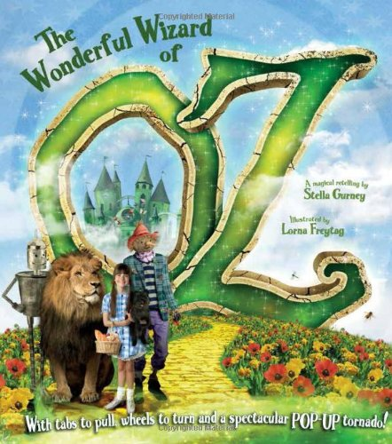 Book cover for The Wonderful Wizard of Oz