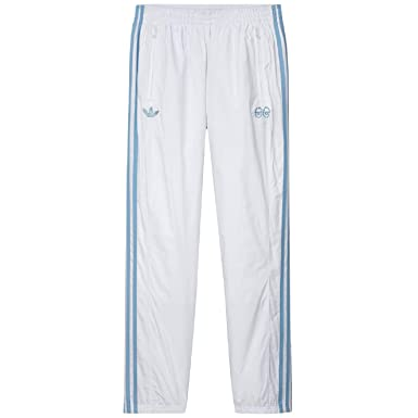 3a180b852e19 Amazon.com  adidas x Krooked (White Clear Blue) Pants  Clothing