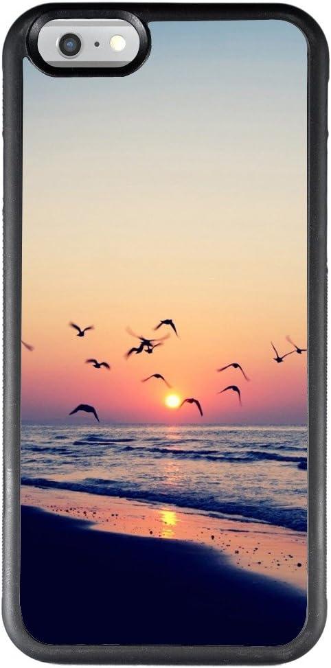 iPhone 6S 6 Coque Coucher de Soleil Ananas, PC et TPU Résistant ...