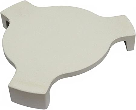 Outspark Heat Deflector Plate Setter Smoking Stone Pizza Stone for 18 Inch Big Green Egg Large Size and 18