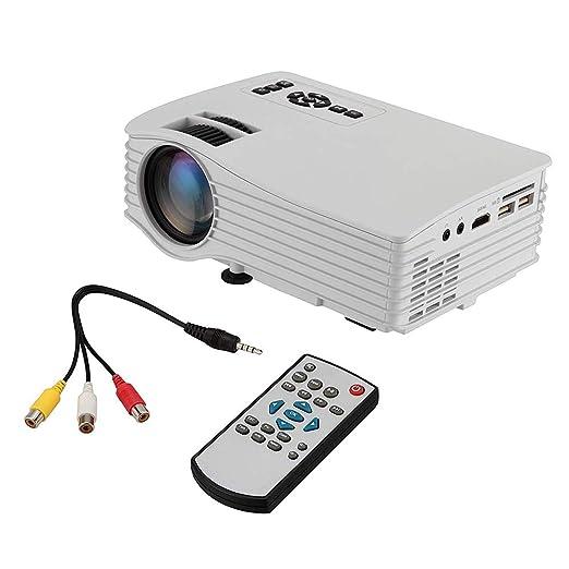 Proyector portátil, LCD Full HD Mini proyector de Cine en casa ...
