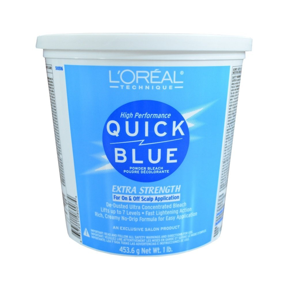 L'OREAL PARIS Quick Blue Powder Bleach, 16 Ounce