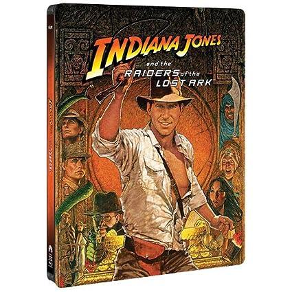 Indiana Jones & The Raiders of the Lost Ark USA Blu-ray: Amazon.es: Cine y Series TV