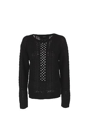 Guess Pull Hiver Jeans w84r45 Noir  Amazon.fr  Vêtements et accessoires ede1507e085