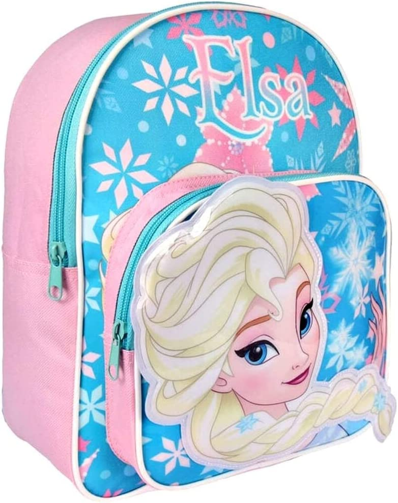 New Kids Official Disney Frozen Princess Glitter Backpack Frozen Ice Magic small