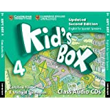 Kid's Box for Spanish Speakers Level 4 Audio CDs (4) Second Edition - 9788490367544