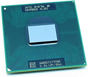 INTEL T9900 MOBILE CPU CORE 2 DUO 3.06G FSB1066 6M UFCPGA8 SOCKET P TRAY PACK