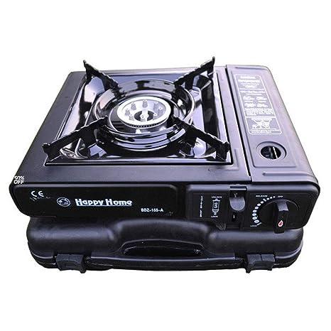 STOVRSs Cocina de Gas, Horno de Cassette portátil para Barbacoa ...