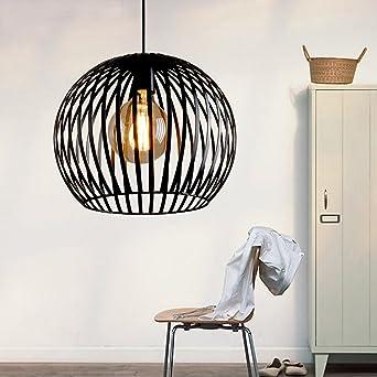 Modern creativos - Lámpara de techo Negro Lámpara colgante ...