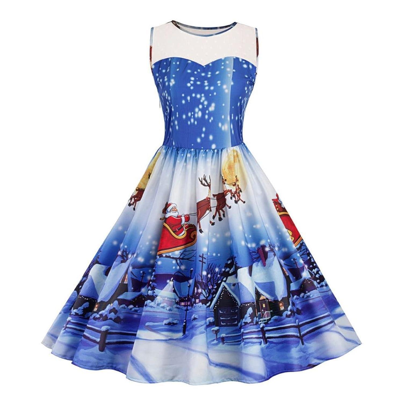 ️• •❤️ LUCKYCAT Weihnachtskleid Vintage Weihnachten Kleid