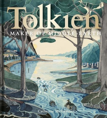 Book cover from Tolkien: Maker of Middle-earth by Brandon Sanderson