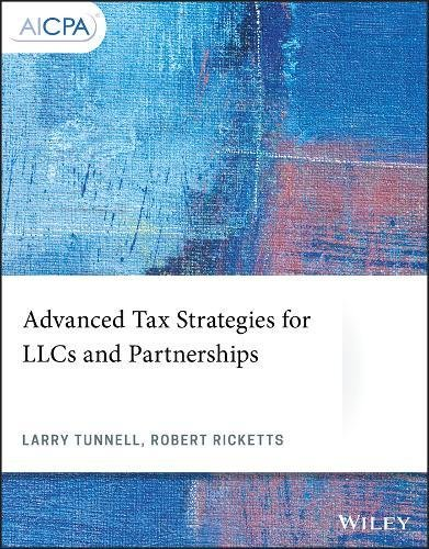 Advanced Tax Strategies for LLCs and Partnerships (AICPA)