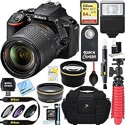 Nikon D5600 24.2mp Dx-format Dslr Camera + Af-s 18-140mm F3.5-5.6g Ed Vr Lens + Accessory Bundle