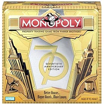 Monopoly Game 70th Anniversary Edition