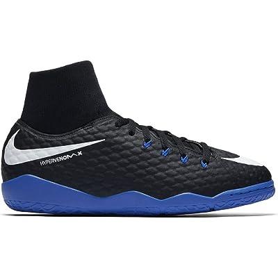 Nike Jr. Hypervenomx Phelon III Dynamic Fit (IC) Indoor Soccer Shoes | Soccer
