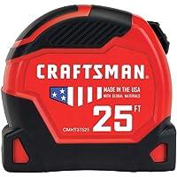 CRAFTSMAN Tape Measure, PRO-11, 25-Foot (CMHT37525)