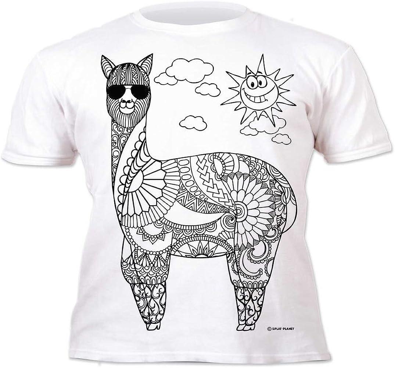 Splat Planet Camiseta Infantil Llama Muy Guay. con preimpresión ...