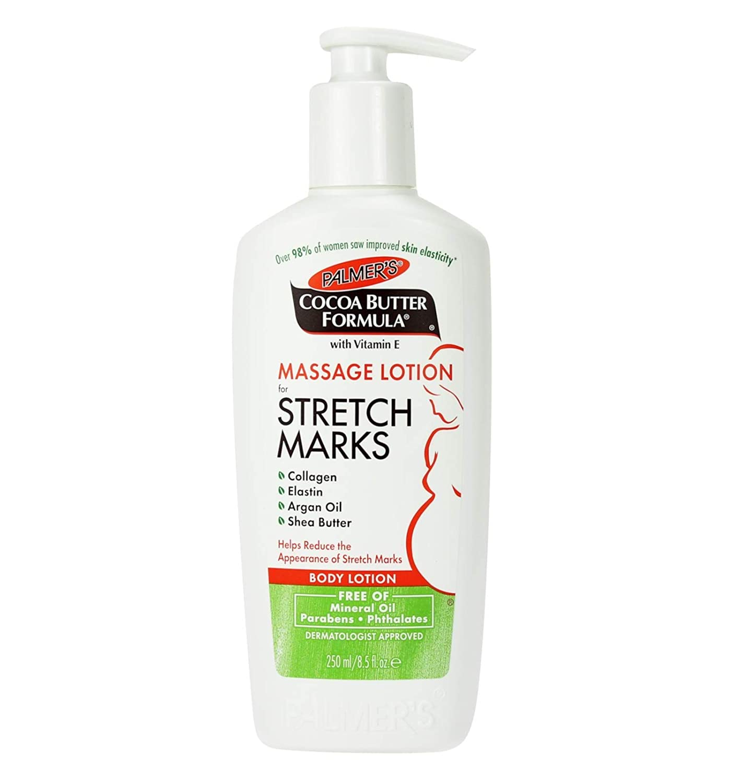 Amazon.com : Palmer's, Cocoa Butter Formula, Massage Lotion for Stretch  Marks, Body Lotion, 8.5 fl oz (250 ml) - 2pc : Beauty