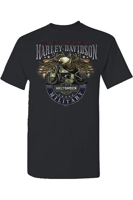 Red Heat NAS Sigonella Mens Smoke Grey Short-Sleeve Flames Graphic T-Shirt HARLEY-DAVIDSON Military