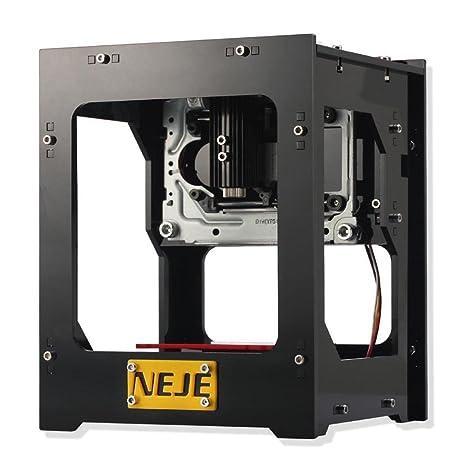 Amazon.com: NEJE DK-BL 405nm 1500mW DIY grabador impresora ...