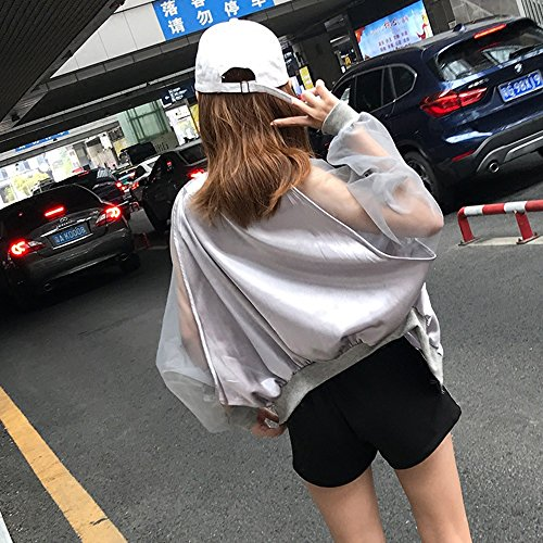femminile B abbigliamento e per XRXY Colore Cardigan traspirante dimensioni C traspirante sportivo M HEYIq57nxq