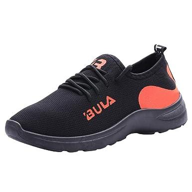 Scarpe da Ginnastica Uomo Nero Sneakers Sportive Offerta