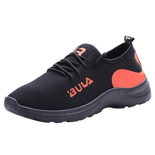 YWLINK Mujer Malla Casual para Antideslizante Deporte Caminar Zapatillas Mocasines Zapatos Suaves Al Aire Libre Ciclismo Ligero Y Transpirable Zapatillas De ...